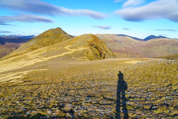 A Selfie on the way to Beinn Fhionnlaidh, Glen Affric