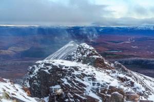 The charismatic east ridge of Bidein a' Ghlas Thuill to Glas Mheall Liath, Torridon & Fisherfield