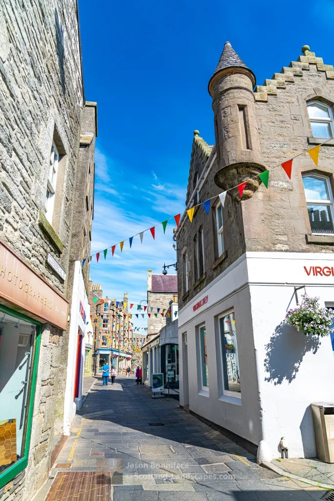 Sunny Lerwick Morning - 3, Shetland