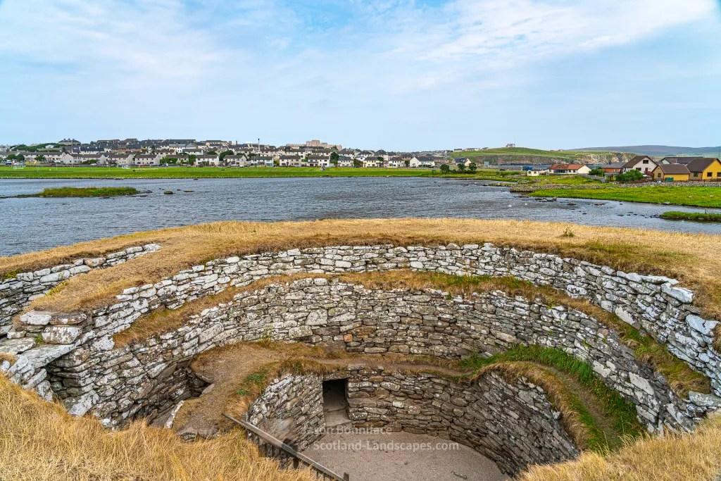 Clickimin Broch and Loch of Clickimin, Shetland