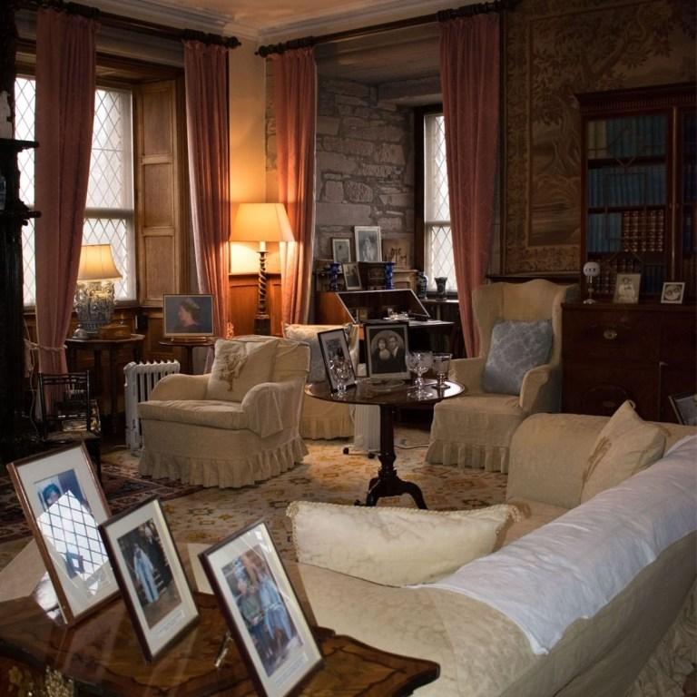 Glamis Castle appartamenti reali