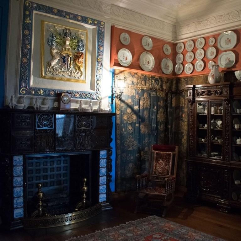 Glamis Castle stanza di Re Malcom