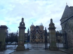 Entrance to Holyroodhouse