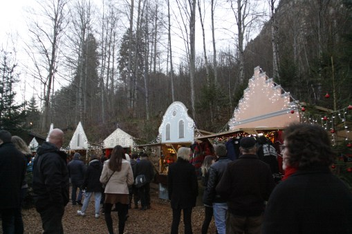 cute little Christmas market!