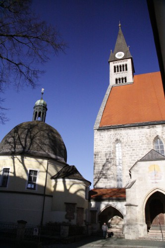Stiftskirche Laufen (Mariä Himmelfahrt - the Assumption of our Lady Mary)