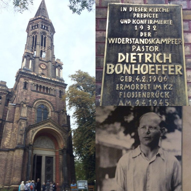 Last but certainly not least, we got to the visit Dietrich Bonhoeffer's Church in Berlin. His strong resistance against the Nazi's had him (and others) hung. In the short life he lived, he left an incredible amount of writings and letters that have been well loved and respected for many decades. I could write a whole post about this man!