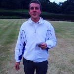 Junior Singles Winner - Ross Thomson of EL-Coop