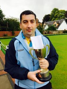 ELBA Champion of Champions Winner - Derek Oliver of Cockenzie & Port Seton