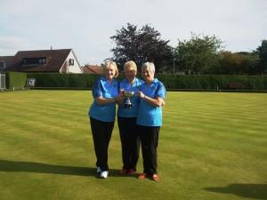East Lothian Ladies Champion of Champions Triples Winners