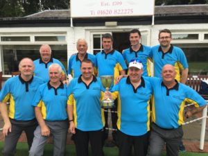 ELBA Jubilee Cup Winners - East Linton BC