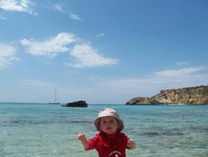 Family Friendly Ibiza with Kids in Cala Vadella