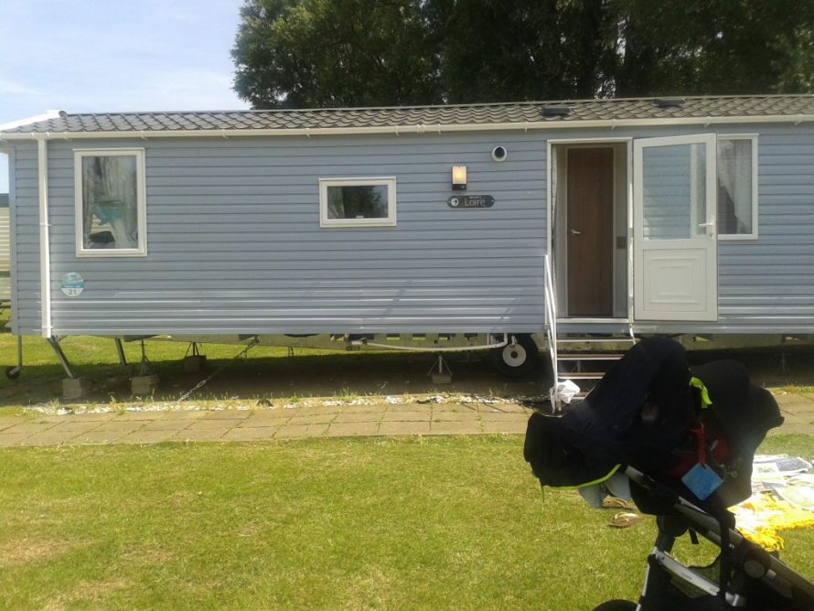 Haven Caravan Family Holiday with Pool in Allhallows Kent near London