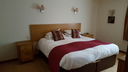 Our accommodation in Bracken Cottage