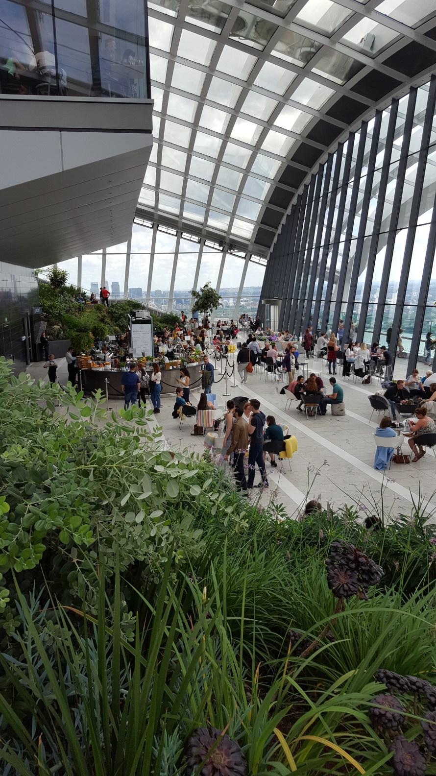 Tips for Visiting the Sky Garden London