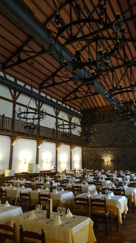Dining Hall at Hotel Isabel