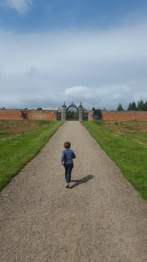 Glamis Castle with Kids