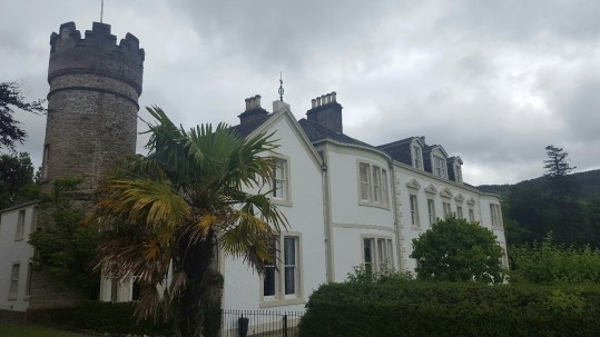 Exterior of Knockdow House