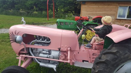 Tractors to play on at Wynford