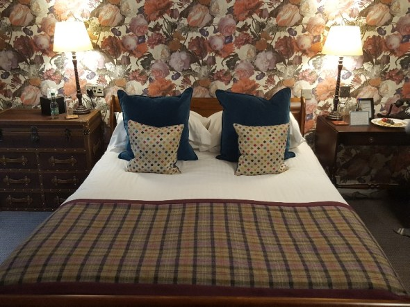 Banchory Lodge hotel room