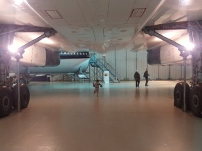 Running underneath Concorde!