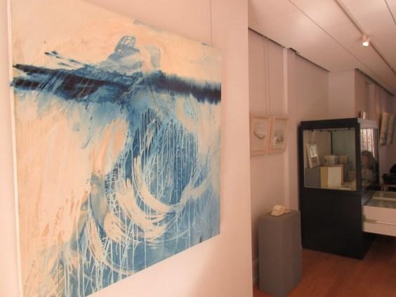 An art exhibition at Dunbar Town House