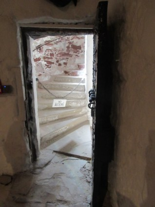 The eery jail cell at Dunbar Town House