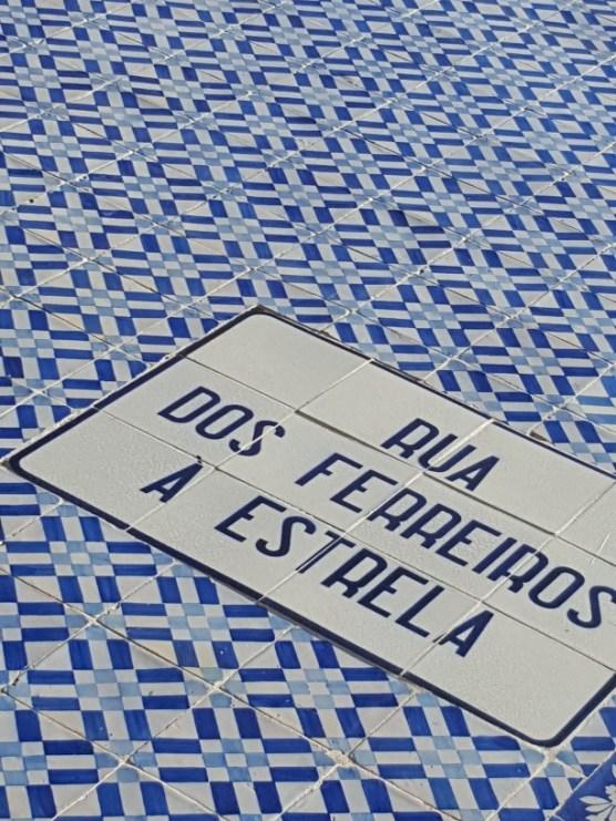 The famous tiles of Lisbon