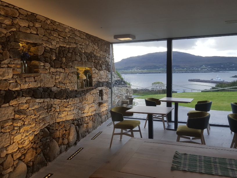 Breakfast with a view at Raasay House