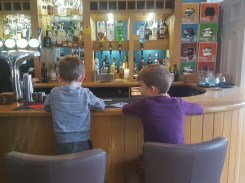 Propping up the bar