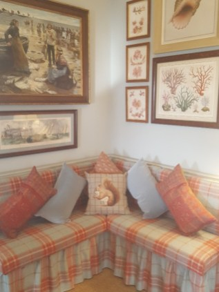 A coastal theme in the Drawing Room