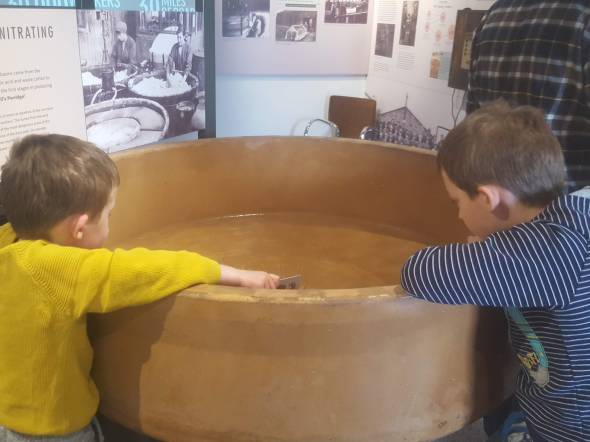 Explosive history at The Devil's Porridge Museum