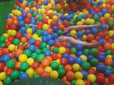 Soft Play action shot