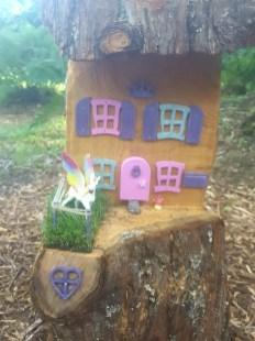 The cutest fairy house