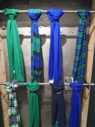 Cashmere treats at Johnston's of Elgin, in Dornoch Jail