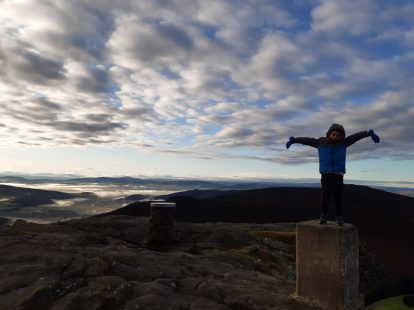 On top of the world - Bennachie