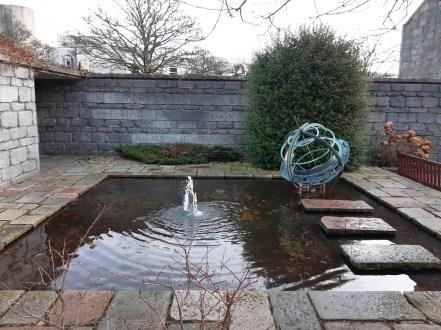 The MacRobert fountain