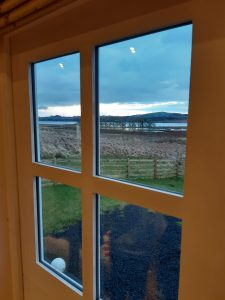 Rural Glamping and Meet the Lambs Experience at Craigduckie Shepherds Huts, Fife, Scotland