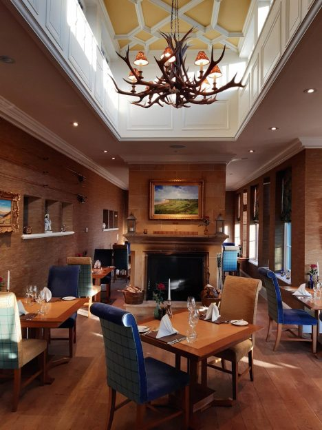 Restaurant at Dornoch House