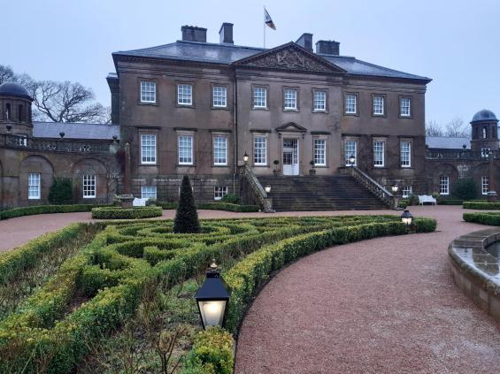Visit Dumfries House when you visit the estate
