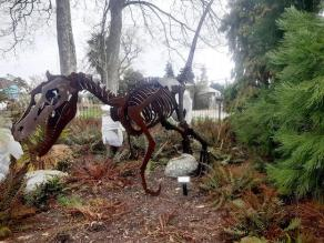 Prehistoric creatures and plants