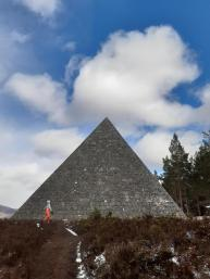 Where to find a Scottish pyramid