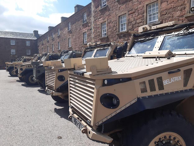 Modern army equipment