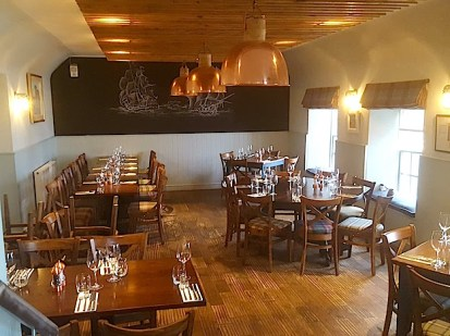 The Ship Inn's restaurant