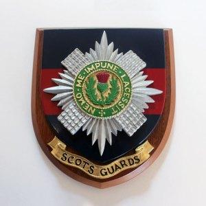Plaque Scots Guards