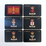 Medium Regimental Place Mats X 6 (Coy Colours)