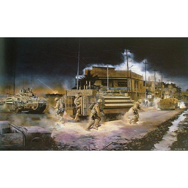 Prints of BN in Iraq