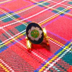 Cufflinks Scots Guards Capstar T-bar