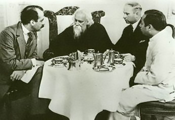 Rabindranath Tagore  Rabindranath Tagore with German intellectuals in 1926