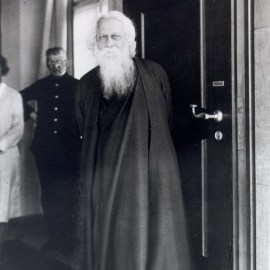 Tagore at Humboldt University in Berlin