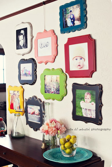 Colorful baby pictures